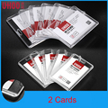 6 Pcs Clear Certificate Name Credit Card Holders Wome Bank Card employee identity Work Card Bus ID holder  Identity badge