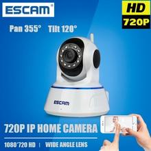Escam QF002 IP Cámara wi-fi WIFI Cámara 720P cámara de vigilancia de seguridad P2P ONVIF IP Cámara inalámbrica con detección de movimiento y visión nocturna