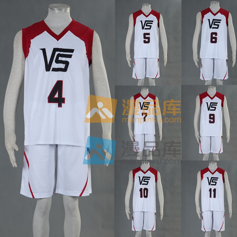 Kuroko No Basketball Last Game Vorpal Swords Uniforms Number 4 5 6 7 9 10 11 Sportswear Cosplay Costume Save 50-70%