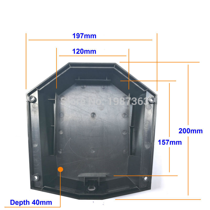 Electric skateboard Battery box and controller box to fit 18650 battery pack and controller