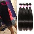 Peruvian Virgin Hair Straight 4 Bundles 7A Peruvian Straight Virgin Hair Weave 100% Human Hair Extensions Straight Peruvian Hair