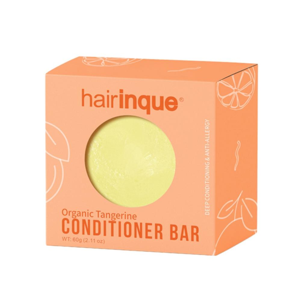 Handmade Organic Hair Mandarin Conditioner Bar VITAMIN C Moisturizing Nourishing Conditioner Hair Care Soap
