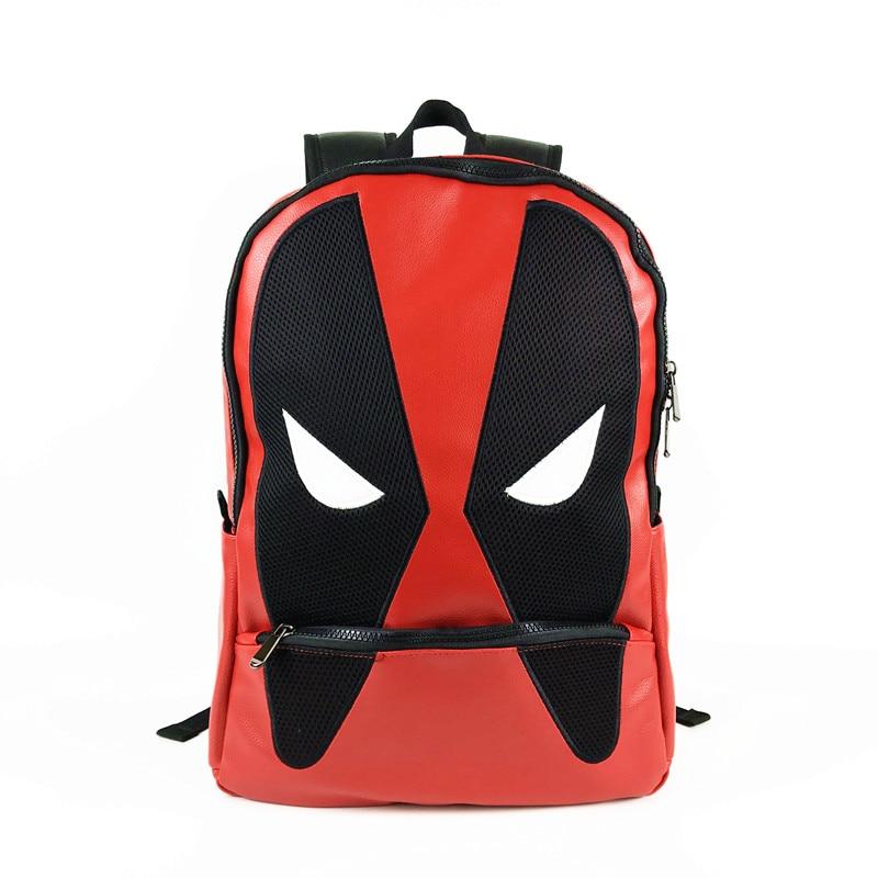 Deadpool Backpacks Mochila Masculina Super Hero Notebook Computer Bags Men Backpack for Gift Back School deadpool