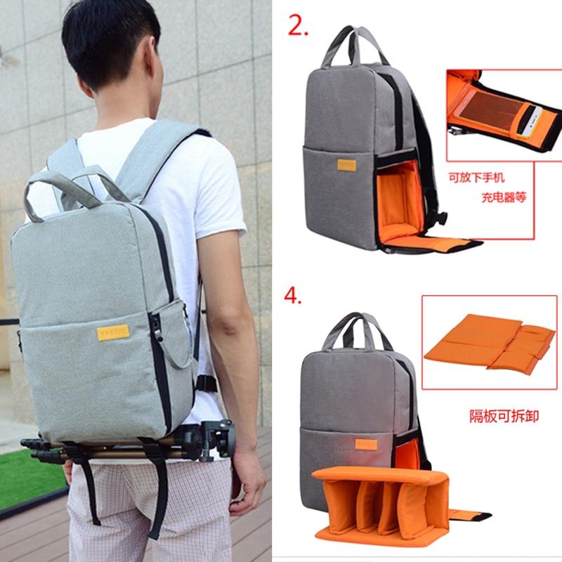 NEW DSLR Camera Bag Backpack for Olympus OMD EM1 EM5 EM10 OM-D E-M1 E-M5 E-M10 Mark III II 3 2 E-600 E-550 E-520 E-500 E-420 aneex e km410