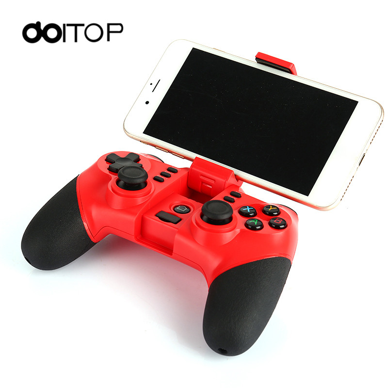 DOITOP X6 Batman BT Wireless Game Gamepad Wireless BT Controller Stand For Android Smartphone Tablet PC TV BOX