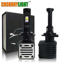 CNSUNNYLIGHT Led Car Headlight Kit w/ MZ Chips H4 H7 H8 H11 9005 HB3 9006 HB4 H13 9007 D1 5202 9012 H15 White 6000K Bulbs