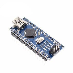 Image 1 - 1PCS מיני USB עם מנהל האתחול ננו 3.0 בקר תואם לarduino CH340 USB נהג 16Mhz ננו V3.0 atmega328