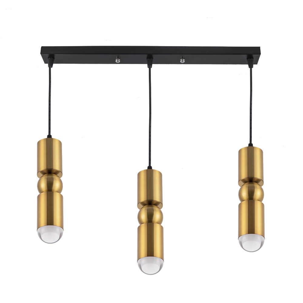 Светодиодный подвесной светильник для столовой в скандинавском стиле, барная стойка для кафе, прикроватный шнур, подвесной светильник, алюминиевый светодиодный Потолочный подвесной светильник