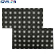 SMD3535 Full Color P10 Outdoor 32x16matrix 1/4scan 320x160mm LED Module with Data & Power Cable