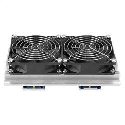 Gorąco!-Dc 12V 120W Peltier klimatyzator półprzewodnikowy moduł peltiera do chłodzenia termoelektrycznego chłodzenie wodne urządzenie chłodzące