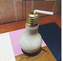High quality creative light bulb glass and bottle