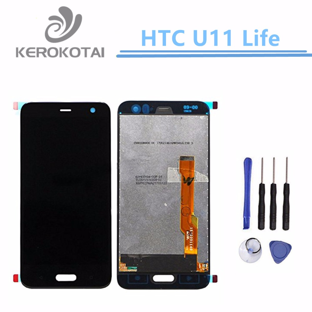For HTC U11 Life LCD Display Touch Screen Digitizer U11 Lite LCD AssemblyFor HTC U11 Life LCD Display Touch Screen Digitizer U11 Lite LCD Assembly