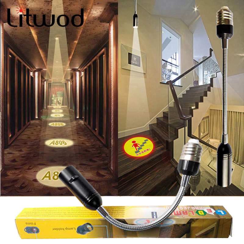 LED Projection Lamp Advertising Lighting Custom LOGO 110v 220v E27 Bar Hotel Movies Customized Design Dropshipping
