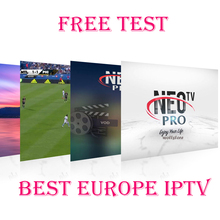 Neopro Iptv subscription french italian spanish Europe portugal albania Ex-yu polish iptv code android tv x96 mini