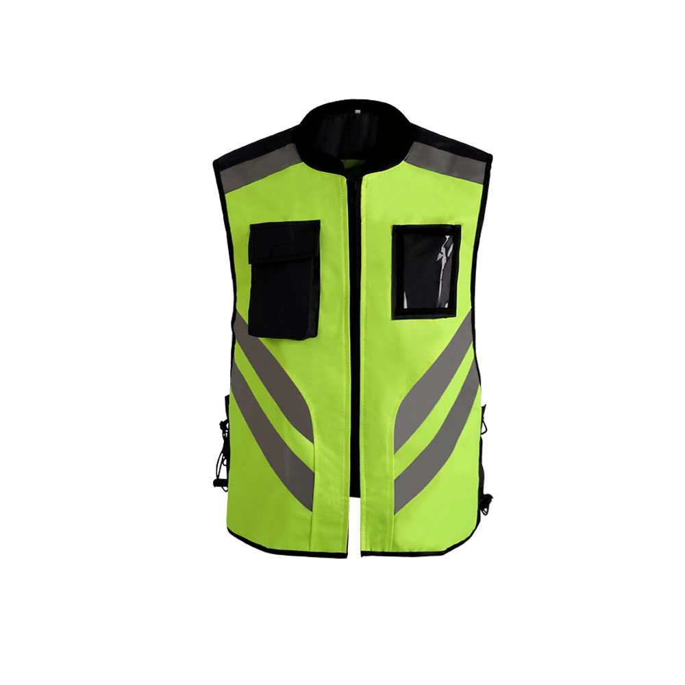 Reflective Vest High Visibility Unisex Night Riding Running Reflective Safety Warning Vest for Traffic Workers Bike Riders(China)