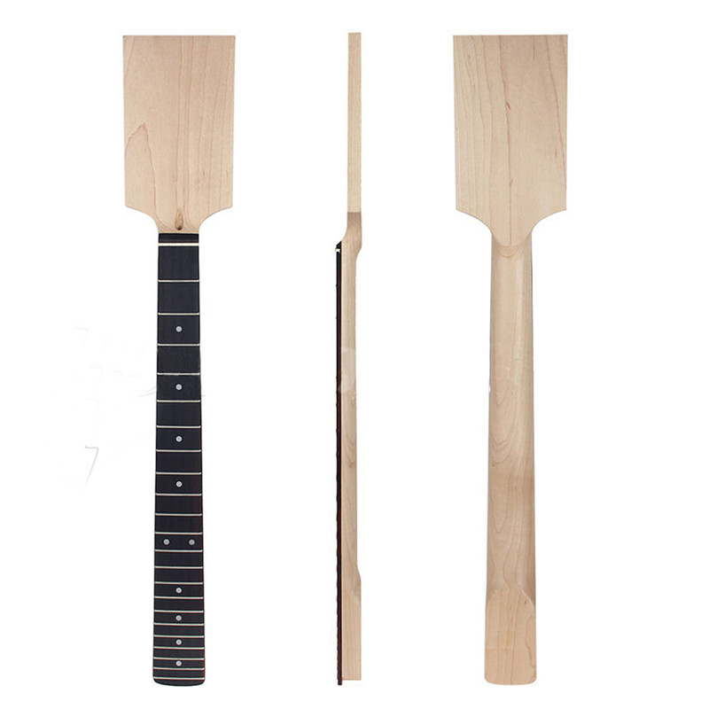 22 Fret Electric Guitar Neck Maple Fingerboard Neck For Musical Stringed Instruments Replacement Guitar Parts Accessories guitar neck maple 22 fret maple fingerboard black dot inlay for fender tele replacement parts