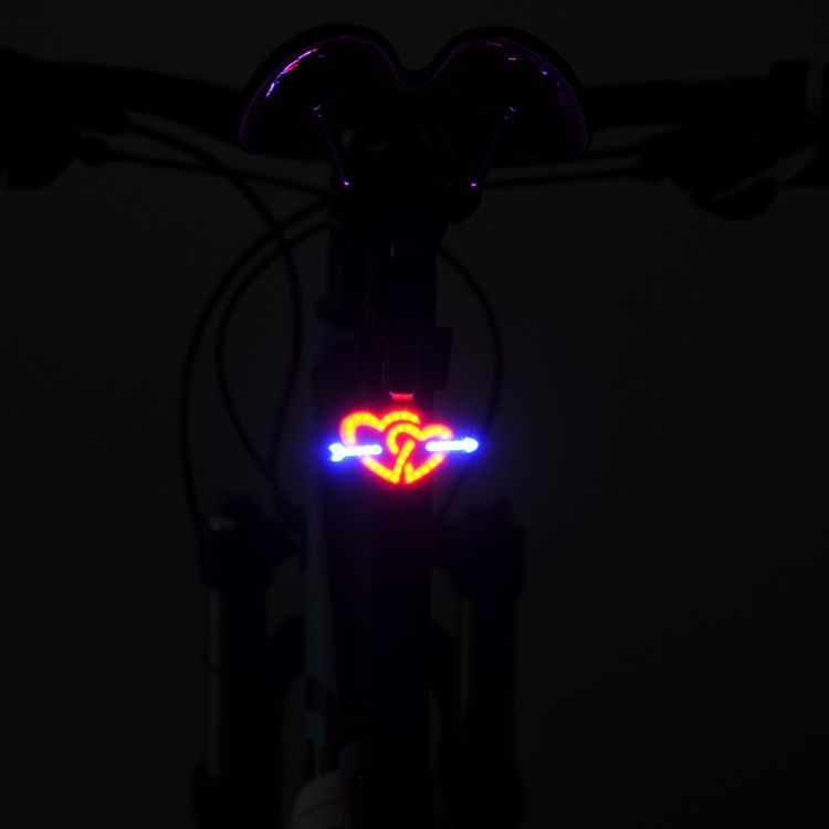 Soul Travel Led Rear Seatpost Bike Light Accessories Usb Battery Charging Waterproof Lamp Bicycle Comet Lights Luz Bicicleta Hot