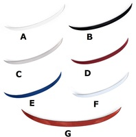 Fit for Hyundai ELANTRA ABS spoiler Wing rear wingdifferent colors
