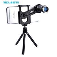 MOUSEMI Universal 8X Zoom Teleskop-objektiv mit Stativ Handy Objektiv für iPhone 5 5 S 6 6 Plus Samsung Galaxy S3 S4 Note2 telefon