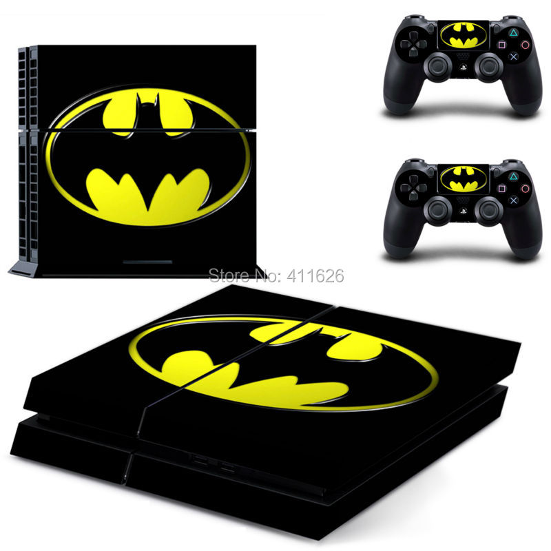Game Decal Skin Cover For Playstaion 4 Console + 2 Pcs Controller Skins In Stock free shipping