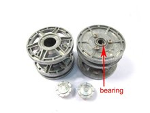 Mato Kingtiger metal upgraded idler wheels with bearings and metal cap for 1 16 Henglong 3888-1 3888A-1 King Tiger RC tank parts