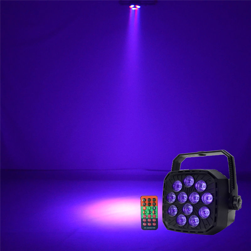 2018  36W UV Purple LED Stage Light DMX Stage Lighting Effect Par Lamp For Party Disco Club DJ Holiday Decoration Lights niugul dmx stage light mini 10w led spot moving head light led patterns lamp dj disco lighting 10w led gobo lights chandelier