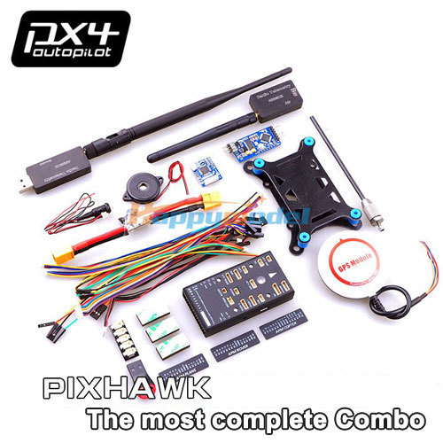 RC Multicopter Pixhawk PX4 32 bit ARM Flight Controller Combo OSD NEO M8N 6M GPS SBUS/PPM Module I2C 915Mhz cuav u blox neo m8n high precision gps module for pixhack pixhawk apm flight controller for rc aircraft spare parts accessories