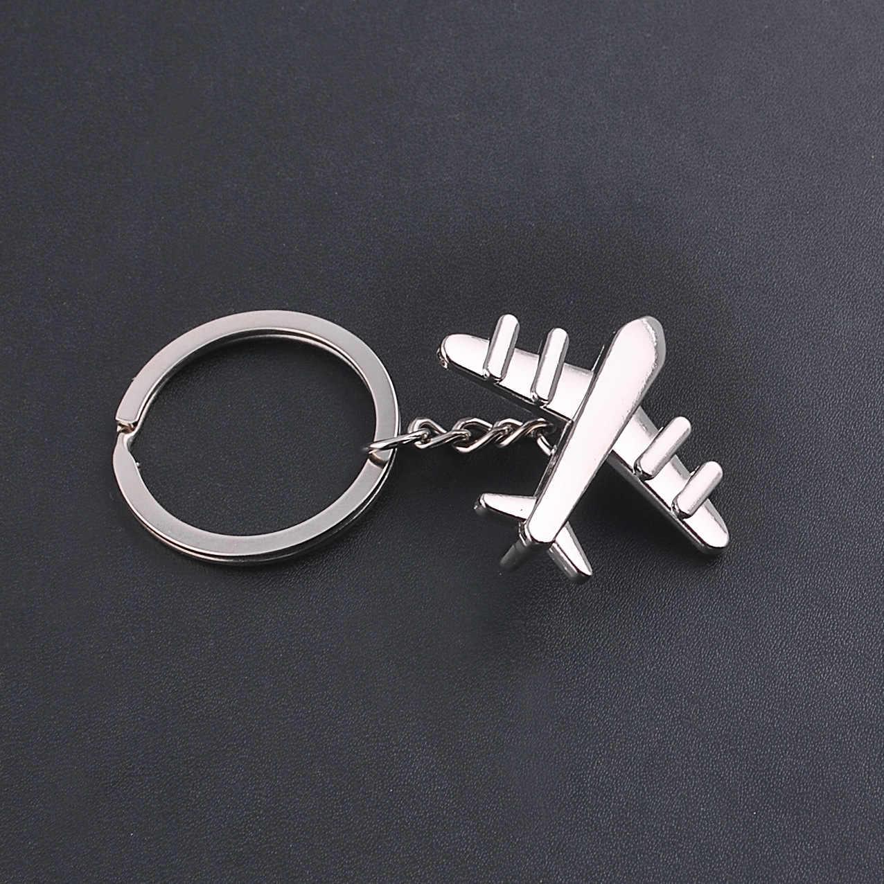 ... Keychain Modern Fighter Aircraft Airplane Key Chain Mini aircraft Key  Ring Bag Pendant Car Keyring For 79f890857