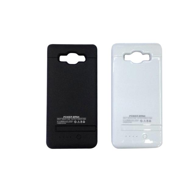 Para samsung galaxy telefone 3200 mah ultra fino banco do poder externo de backup de bateria caso carregador para samsung galaxy a5 abranger os casos