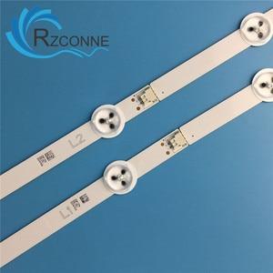 "Image 4 - USED LED Backlight strip 10 lamp For LG 50"" TV 50LN5400 50LA620V 6916L 1276A 6916L 1273A 6916L 1272A 6916L 1241A 50LN577S"
