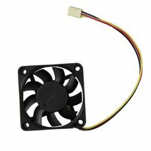 Best Price 60mm PC CPU Cooling Fan 12v 3 Pin Computer Case Cooler Quiet Molex Connector MAY25 1.03