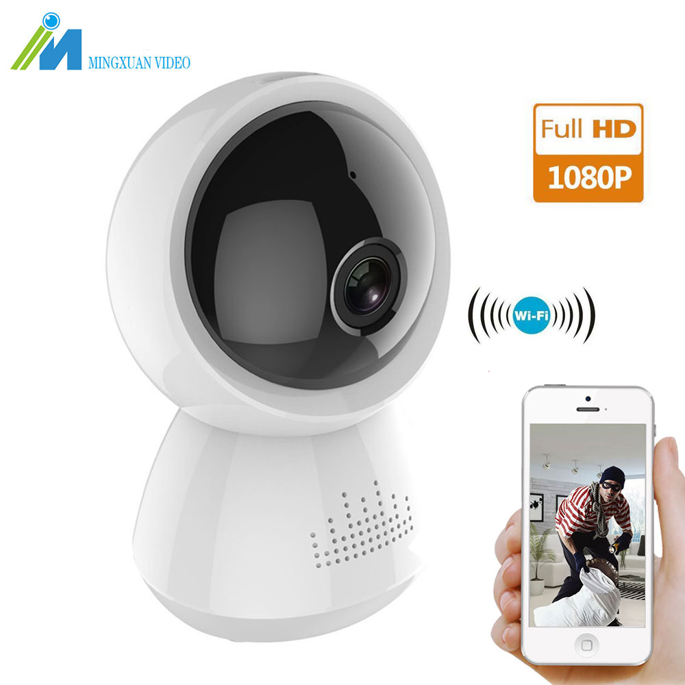 1080P HD Wireless IP Camera 2MP Home Security Wifi Camera with Two-Way Audio Night Vision Baby Pet Video Monitor Camera SD Solt