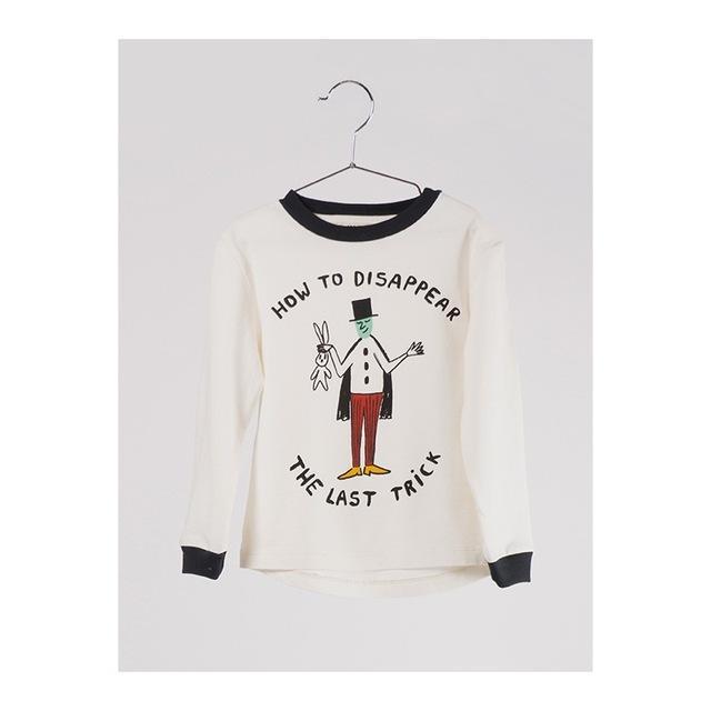 2016 Outono nova moda bobo choses Óculos rabbitt padrão completa da luva t-shirt Do Bebê Do algodão das crianças para o menino menina cobre Tee