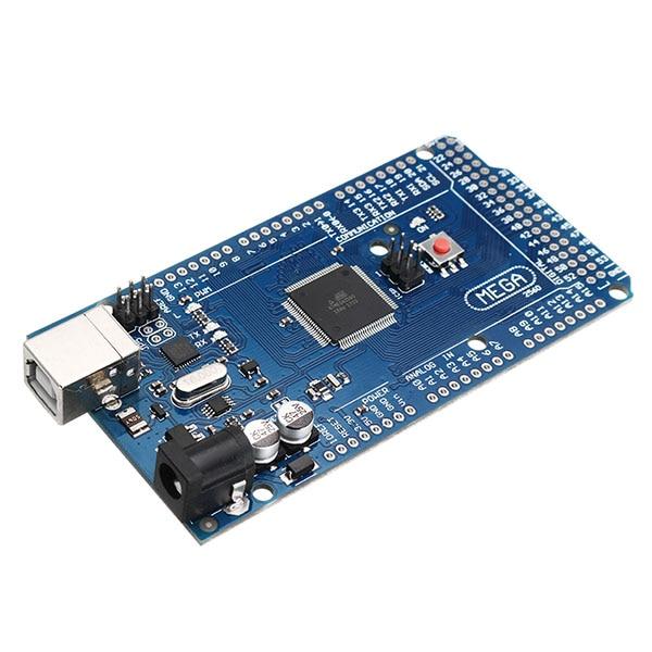 МЕГА 2560 R3 ATmega2560-16AU макетная плата без USB кабеля отпайки штыревой разъем для Arduino