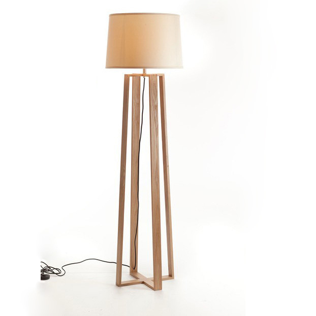 """Bedroom Lamps Ikea: New Chinese Wood Floor Lamp IKEA Low Carbon Life """"shadow"""