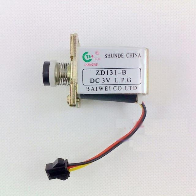 אביזרים 3 v תנור גז תנור הצתה הגנת להבת שסתום סולנואיד שסתום סולנואיד תחול Changwei ZD131-B
