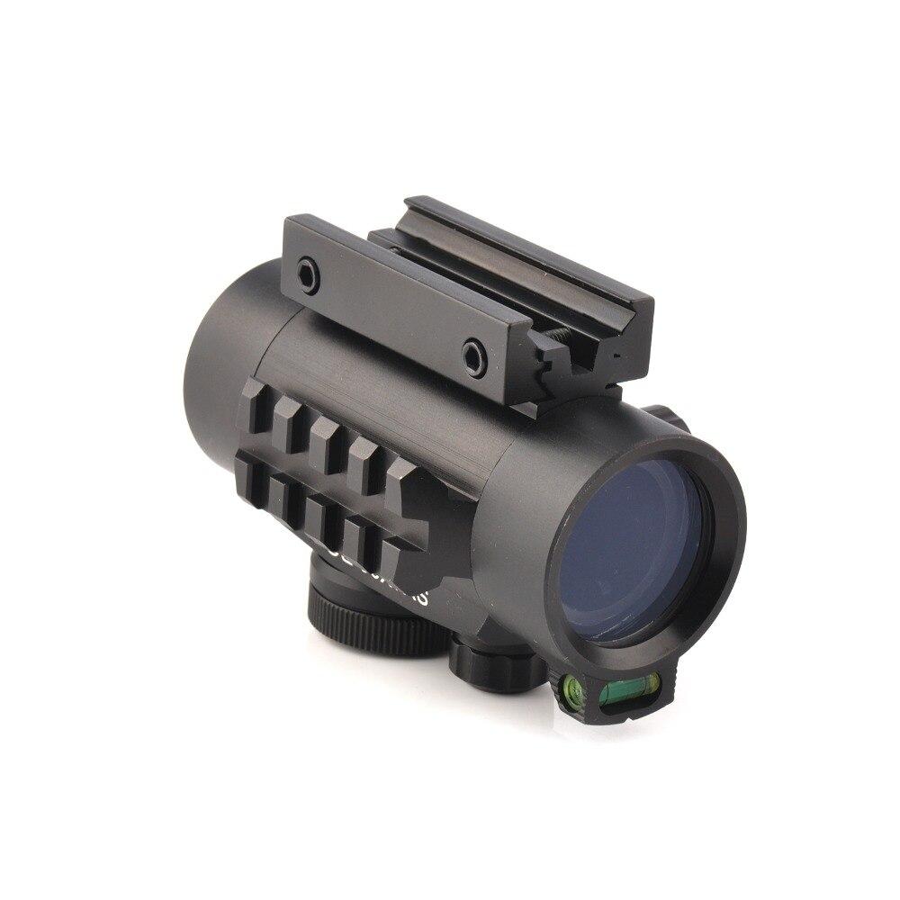 Riflescopes Mira Óptica com Nível de Bolha