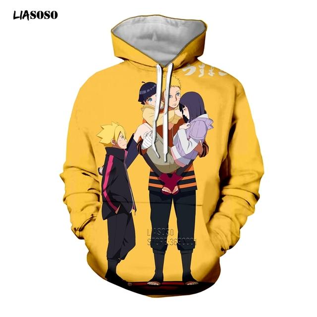 Naruto Hinata 3D Print Hoodie