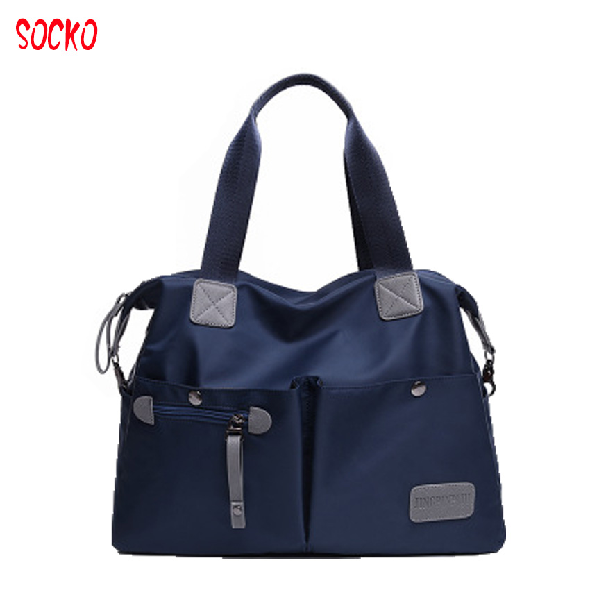 2017 New european style women casual bag shoulder messenger Oxford bag waterproof Nylon Oxford cloth travel bag ZL43