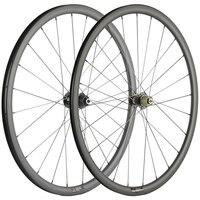 700C road disc brake wheelset 30mm clincher U shape 25mm cyclocross bicycle carbon wheels
