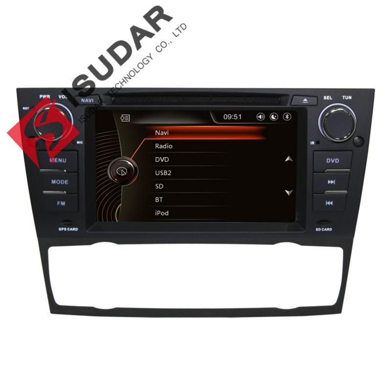 New 7 Inch Car DVD Player For BMW E90 E91 E92 E93 318 320 325 Canbus