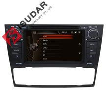 One Din 7 Inch Car DVD Player For BMW/E90/E91/E92/E93/318/320/325 Canbus Navigation Radio GPS Bluetooth 1080P 3G USB Ipod Map