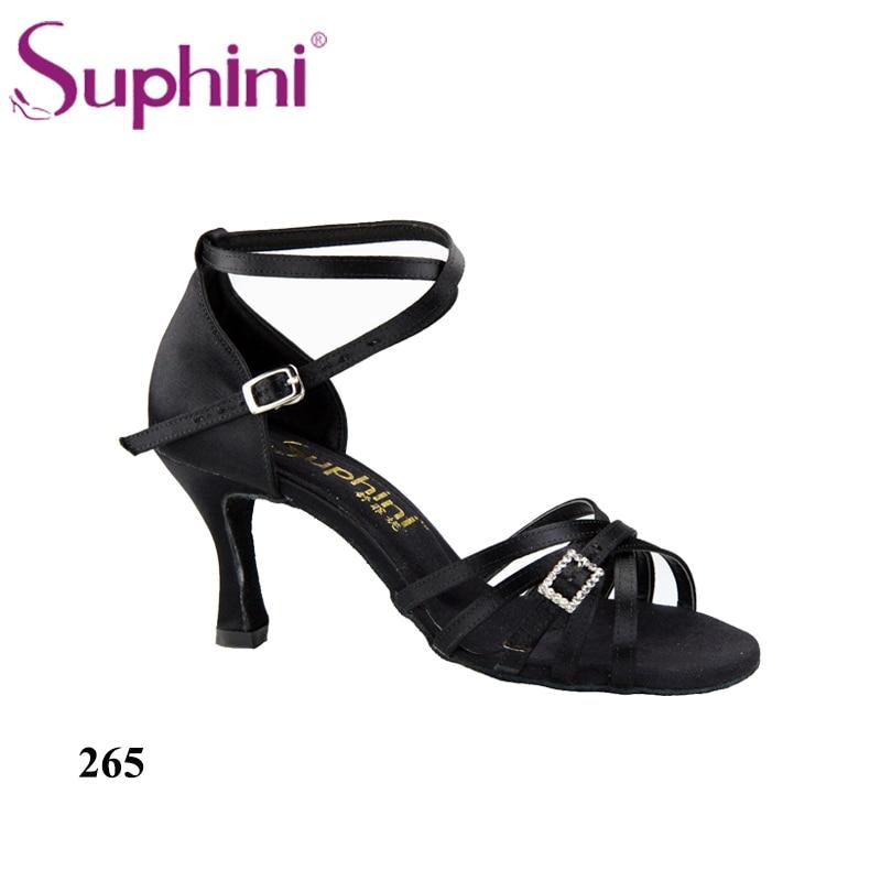 De Sandalias Dama Nueva Gratis Baile Suphini Envío Zapatos Negro Latino TF1KJlc3u