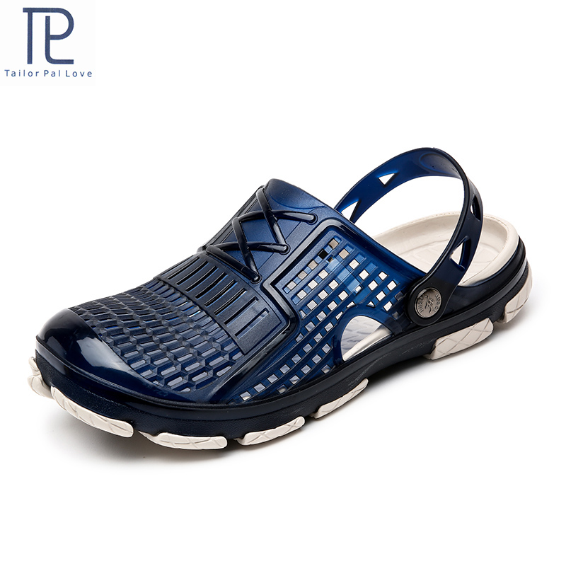 New Men Sandals Summer Flip Flops Outdoor Beach Casual Shoes Cheap Male Sandals Water Shoes Slippers Men Jelly Shoes