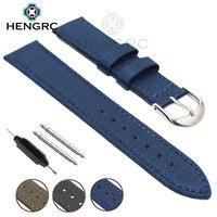 Bracelet Nato Toile Nylon Véritable Bande de Montre En Cuir 18mm 20mm 22mm 24mm Hommes Noir Bleu Vert femmes De Mode Bracelet Bracelet