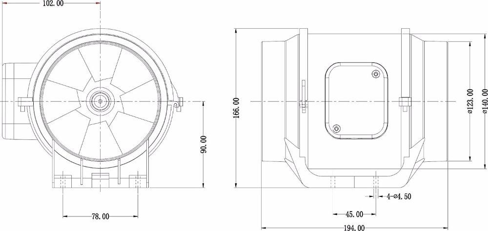 Badezimmer Abluft Design Hon Guan Hf S Extractor Gemischt Flow.