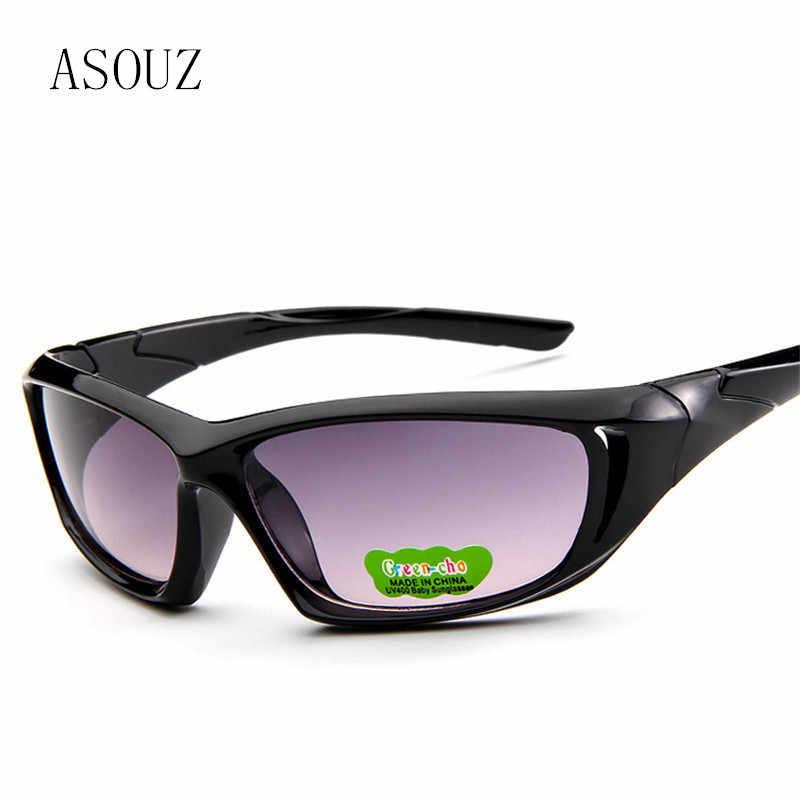 2d04efe40e ASOUZ 2018 new luxury brand boy girl fashion sunglasses child safety cat  eyes retro square glasses