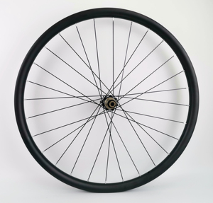 Image 3 - 29ER Asymmetry MTB AM/XC hookless carbon wheels 30mm width 24mm depth mountain bike super light carbon wheelset