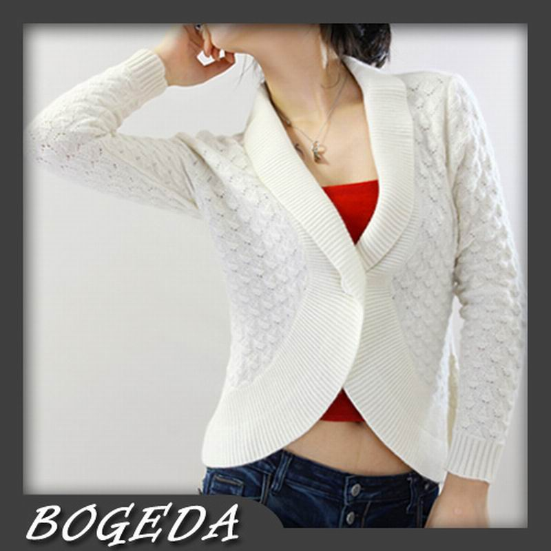 100%Cashmere White Sweater Women Cardigan Natural Fabric Extra Soft Warm High Quality Clearance Sale Free Shipping