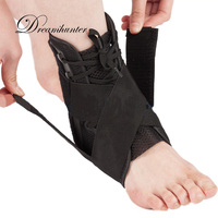 מגיני קרסול רצועות תחבושת מתכווננת בטיחות ספורט קרסול Braces תומך משמר ישור רגל מייצב
